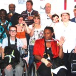 Locally based disabled artists display their Mayor's medals