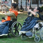 Muskaan Bollywood wheelchair dancers from Asian People's Alliance.