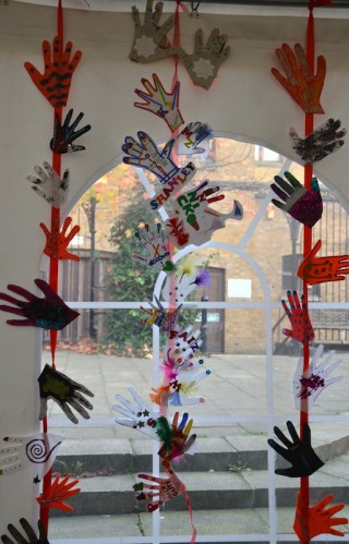 Hands up at the Old Town Hall on International Day of Disabled People 3 December 2014