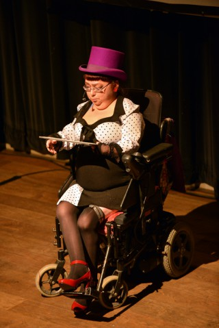 Penny Pepper performs Lost in Spaces on 21 November