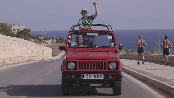 Cesare Cicardini's Elsewhere is a road movie with a difference, and is being screened on Sunday in the Short Docs programme.