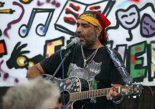 Rock singer Steve Karim