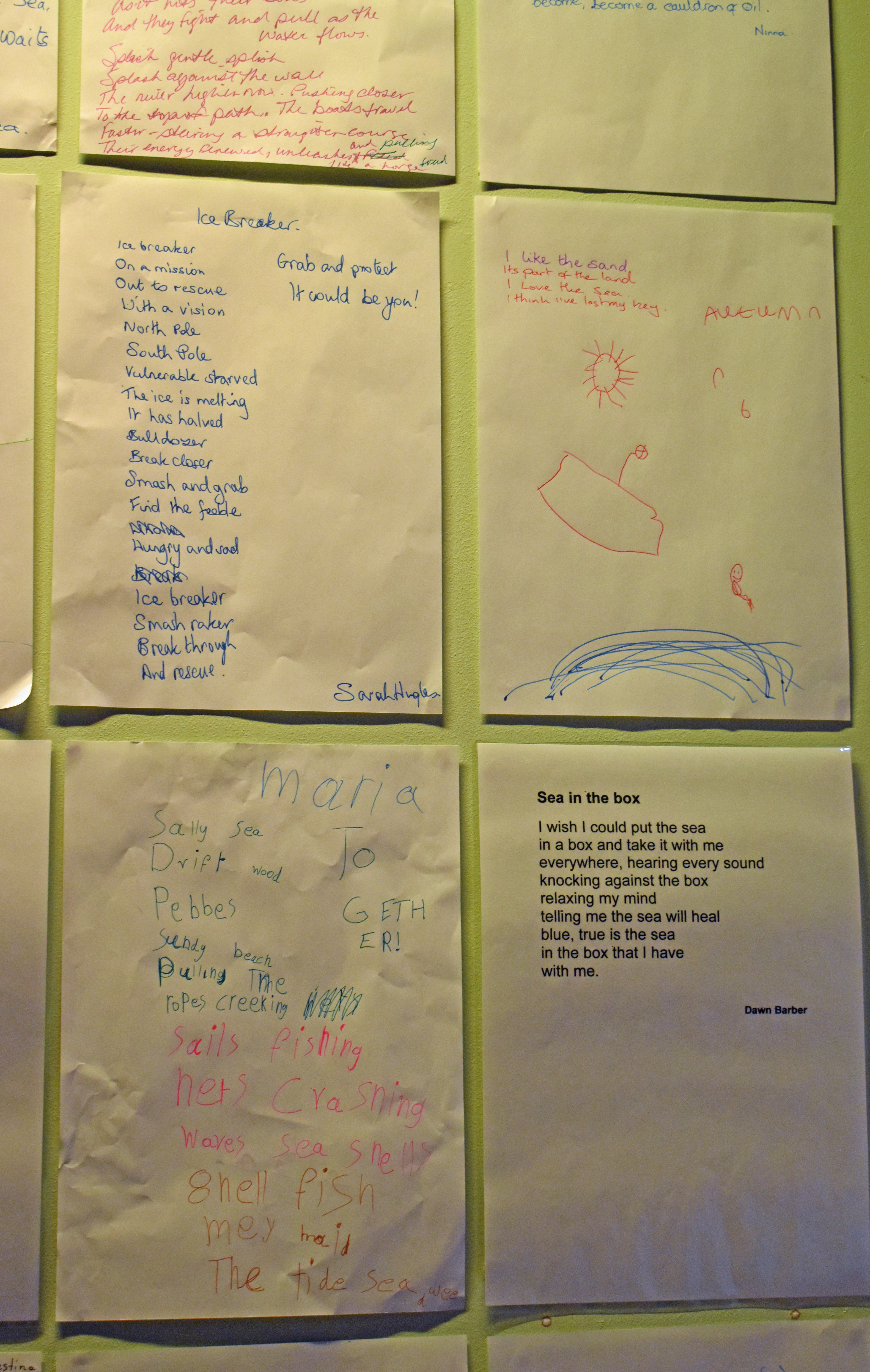 Pop-Up Poetry at Museum of London Docklands | Together! 2012