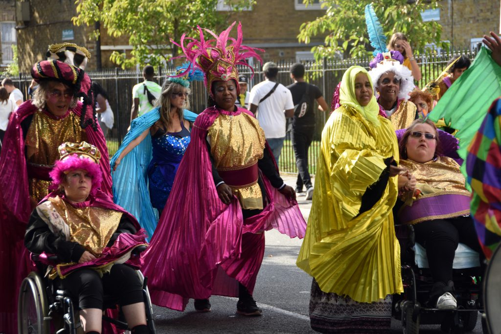 Together with Paracarnival at Hackney Carnival