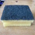 Washing-up sponge
